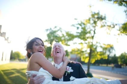 Lara & Moray: photo courtesy of Ayres Photography