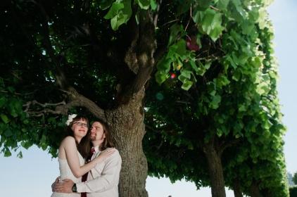 Cassandra & Steve: photo courtesy of Ayres Photography