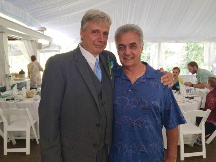 Rick & my dad!