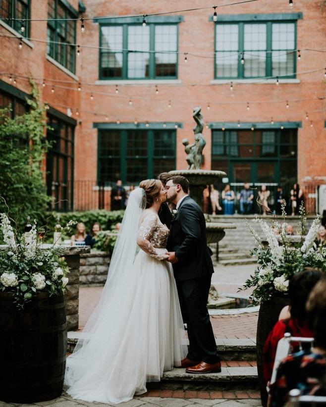 Megan & Kaleb Photo courtesy of Jessica Jay James Photography